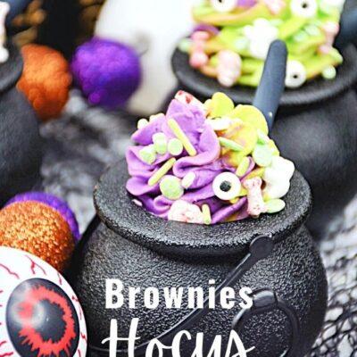 Hocus Pocus Brownies – Fun Witch Themed Dessert