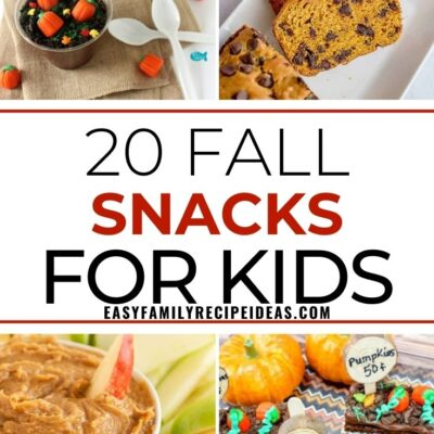 25+ Fall Snack Ideas – Easy, Fun, and Healthy Snacks